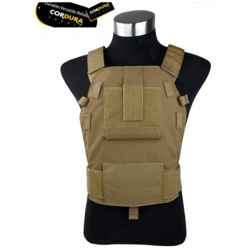 TMC MP94AS Modular Plate Carrier Vest (Coyote Brown)