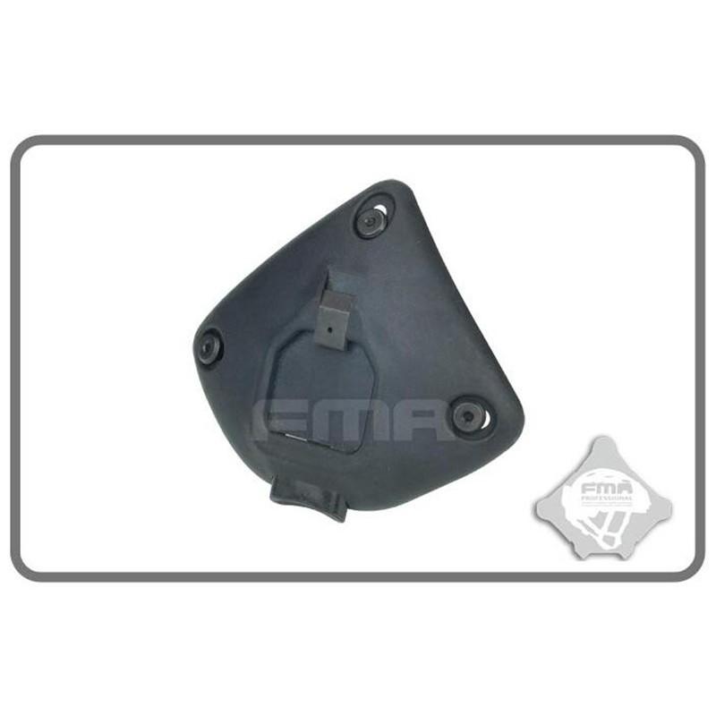 FMA Helmet Polymer NVG Mount (Black)