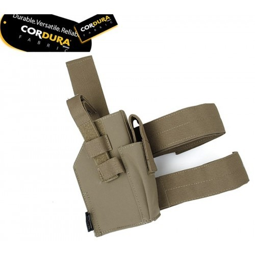 TMC Drop Leg Holster for Right Hand (Coyote Brown)