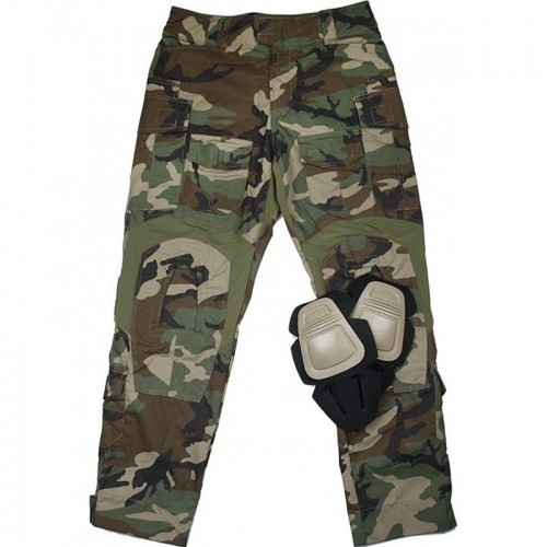 TMC Gen3 Combat Trouser with Knee Pads (Woodland)