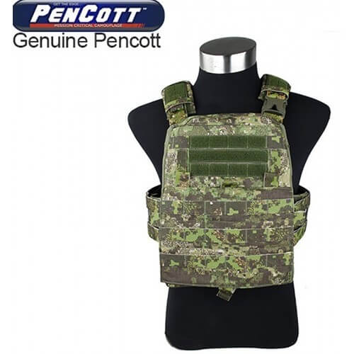 TMC Modular Assault Vest System Plate Carrier 2019 Version Color-PenCott GreenZone
