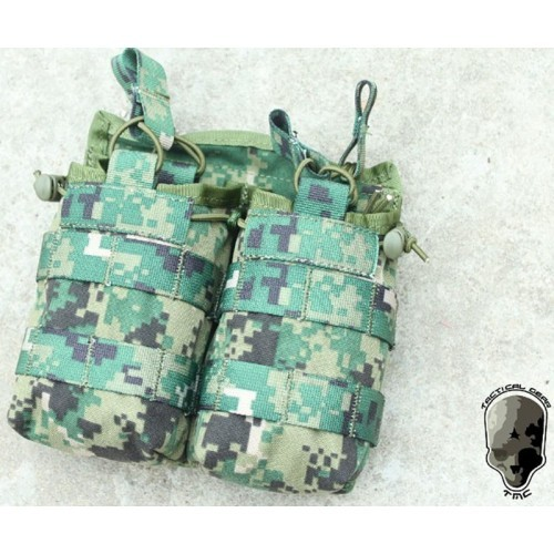TMC Open-Top Stacker Double Mag Pouch
