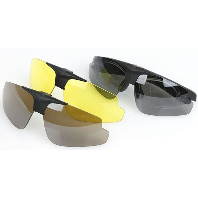 TMC C2 Polycarbonate Ultralight Eye Protection Shooting Glasses Set