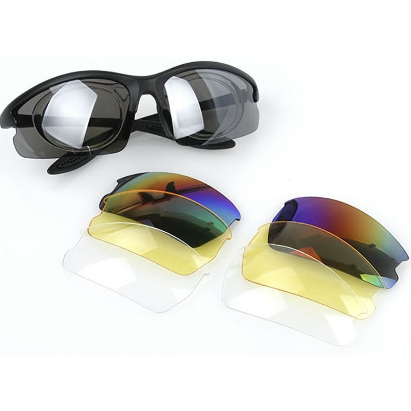 TMC C3 Polycarbonate Lightweight Eye Protection Shooting Glasses Set
