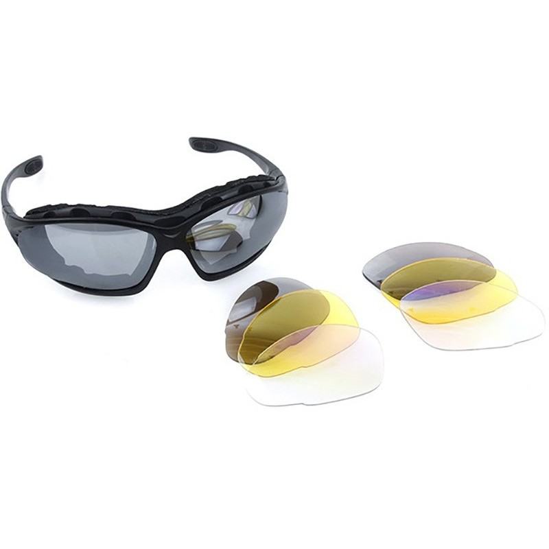213e776318a TMC C4 Polycarbonate Multi Purpose Eye Protection Shooting Glasses Set
