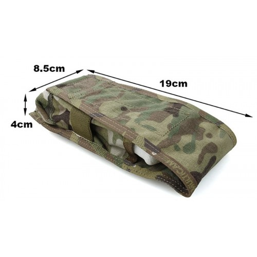 TMC CP Style Dral M4 Single Mag Pouch Color-PenCott GreenZone