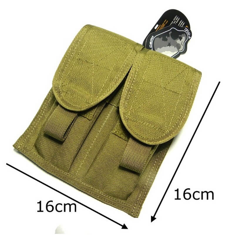 TMC MSA Style Double Mag Pouch