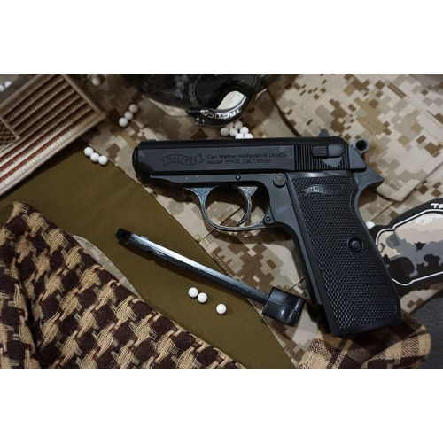 Umarex Walther Licensed PPK GBB Pistol CO2 Version