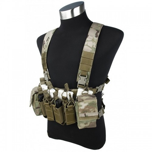 TMC Defender 3 Chest Rig X Type Light Version for 5.56