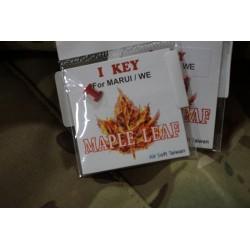 Maple Leaf CNC Aluminum I-Key for Marui/WE GBB Pistol