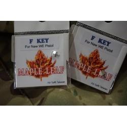 Maple Leaf CNC Aluminum F-Key for WE GBB Pistol