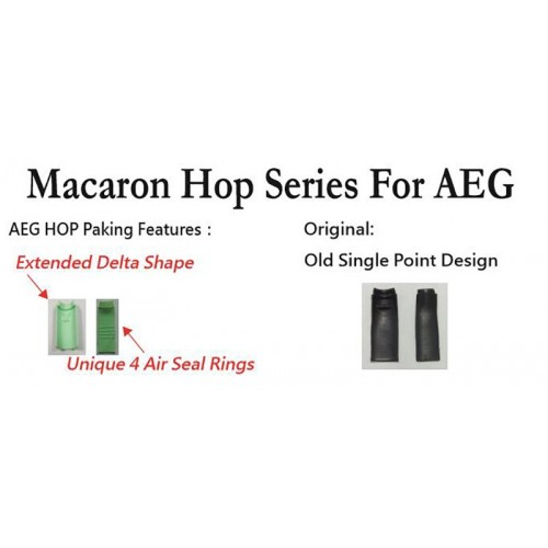 Maple Leaf Macaron Hop-Up Rubber for AEG