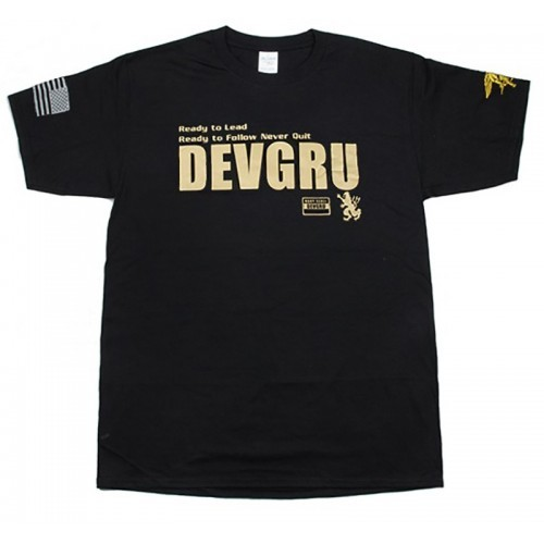 Waterfall Devgru Gold Squad Style Cotton T Shirt