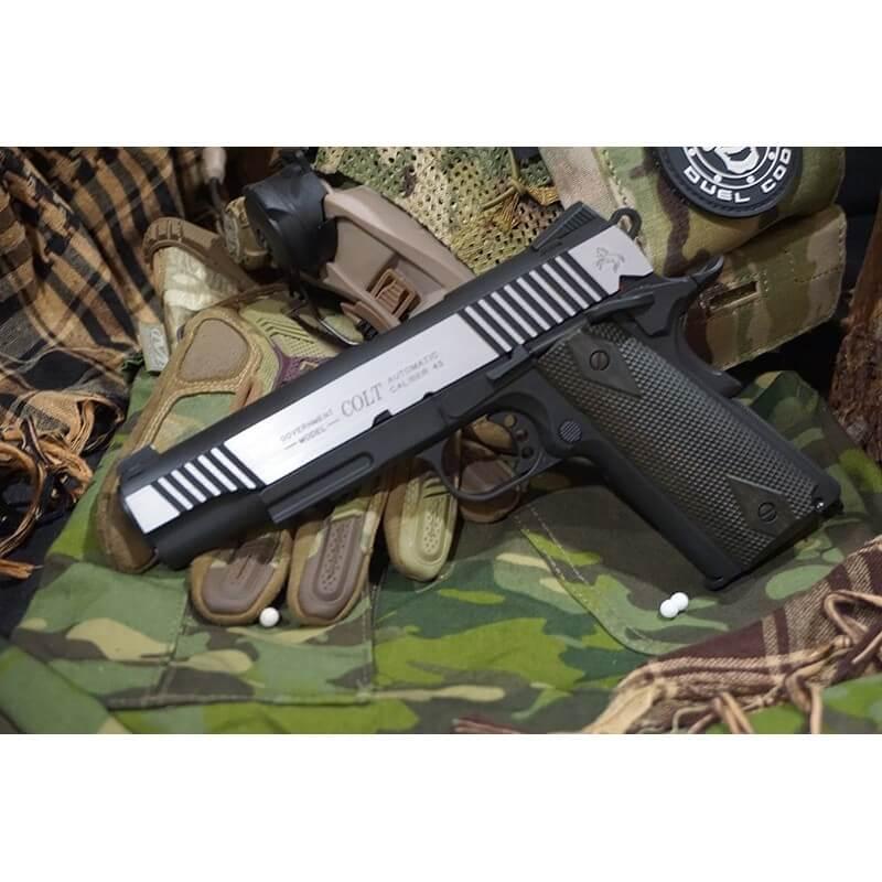 Cybergun Colt 1911 Rail CO2 GBB Pistol