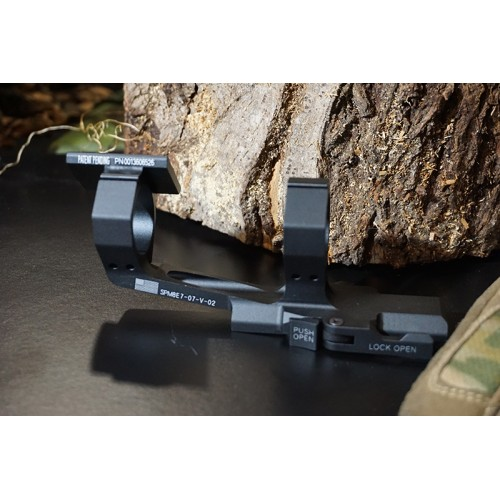 Hero Arms 30mm Cantilever QD Scope Mount Set with RMR Base