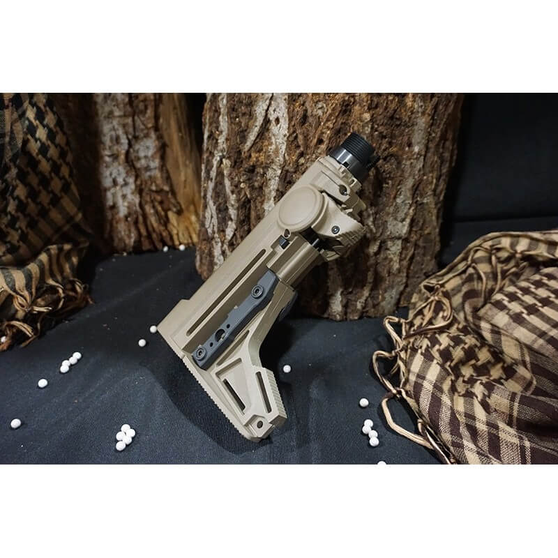 PTS ERGO Grip F93 PRO Stock for M4 / M16 AEG (NO Packing)