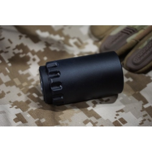 5KU 7.62 Taper Mount Flash Comp and Blast Shield