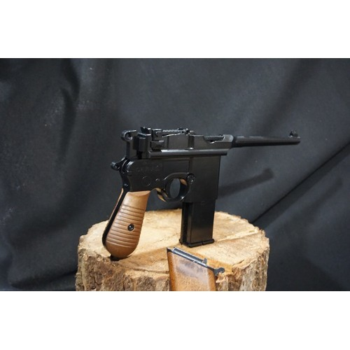 WE M712 GBB Pistol with Imitated Wood Stock