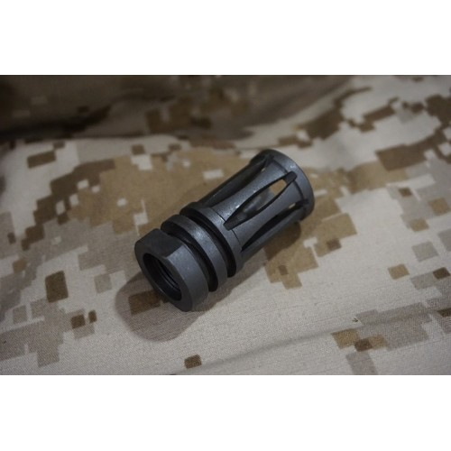 Iron Airsoft Bird Cage Metal Flash Hider