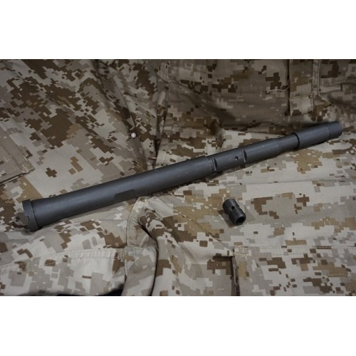 Iron Airsoft HK416 Series 14.5 Inch Steel Out Barrel
