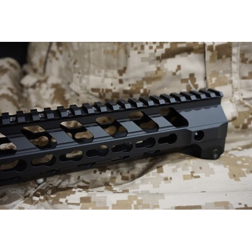 Iron Airsoft 14 Inch Free Float Keymod Aluminum Rail