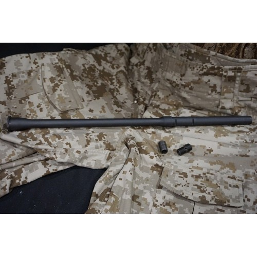 Iron Airsoft AR15 20 Inch Steel Out Barrel