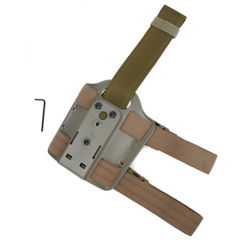 TMC Single Strap Holster Leg Shroud
