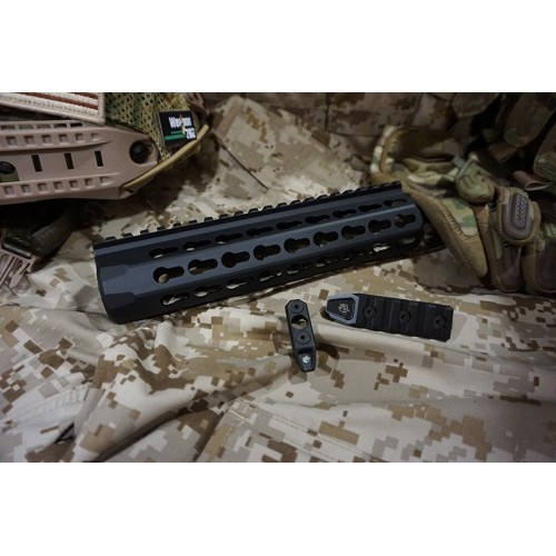 Iron Airsoft 8.5 Inch URX4 Aluminum Keymod Rail Set