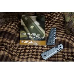 FMA Aluminum M1911 Grip Cover