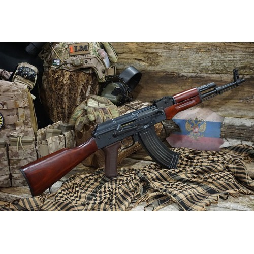 Arrow Dynamic (E&L OEM) AKM AEG Rifle with Real Wood Furniture