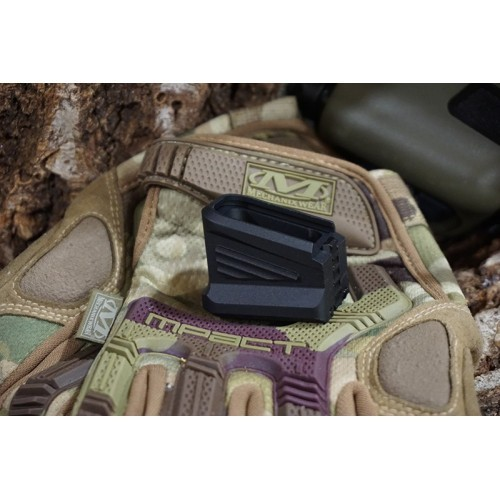 5KU Force 17 Lightweight Aluminum Extended Mag Basepad For Marui and WE