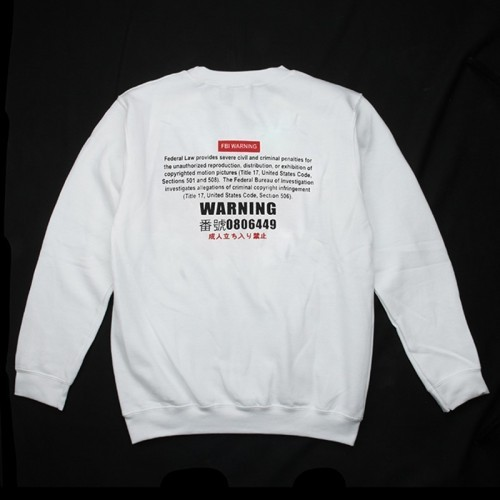 Waterfull Minor Prohibited Style Heavy Blend Crewneck Sweatshirt
