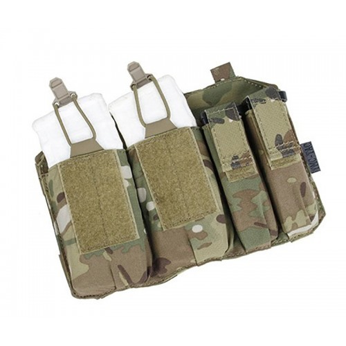 TMC Double 5.56 and 9mm Mag Pouch for Kydex Frame Carrier