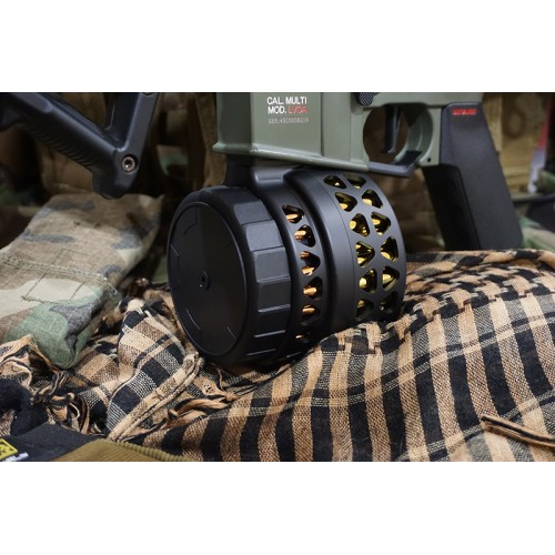 Iron Airsoft 1000rds Sound Control M4 Mag Drum