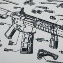Waterfull M4 Carbine Style Carpet