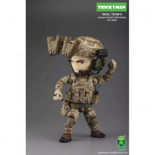 Figurebase 5 inch Seal Team 6 Rifleman Figure