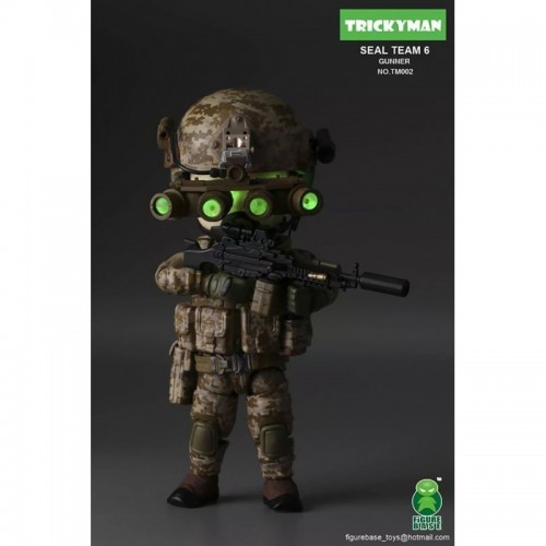 Figurebase 5 inch Seal Team 6 Gunner Figure