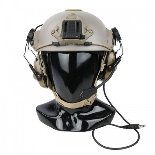 OPSMEN M32 Hearing Protection Headset With Standard Plug MOD1