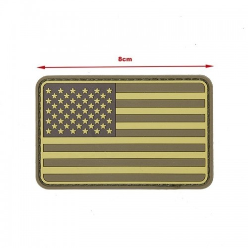 TMC US Flag PVC Patch