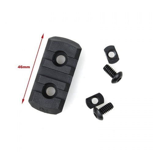 TMC Nylon M-Lock 3 Slot Picatinny Section Set