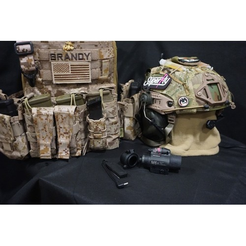 BattleField M6X Laser Tactical Flashlight