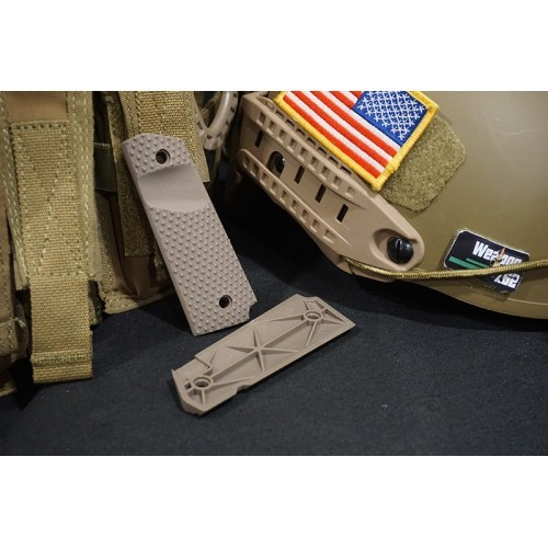 FMA Nylon Diamond Shaped Surface M1911 Grip Set