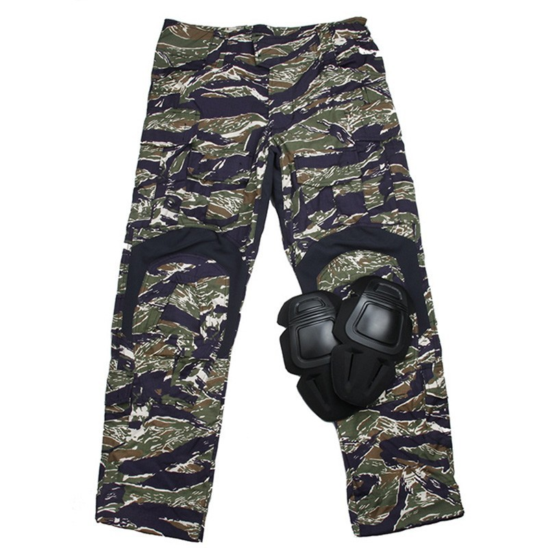 TMC Gen3 Original Cutting Combat Trouser with Knee Pads 2018 Version (Blue Tiger Stripe)