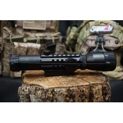 Hero Arms 1-4x Tri-Rail Rifle Scope