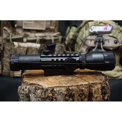 Hero Arms 1-4x Tri-Rail Rifle Scope