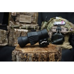 Hero Arms 4x Magnifier Scope with QD Flip-to-Side Mount