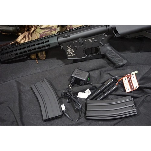 Cybergun Colt Full Metal 10 Inch Keymod M4 CQB Rifle