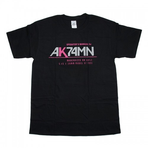 Waterfall AK74M Manual Style Cotton T Shirt