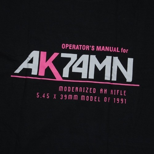 Waterfall AK74M Manual Style Cotton T Shirt