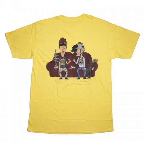 Waterfull Beavis Butt-Head Style Cotton T Shirt